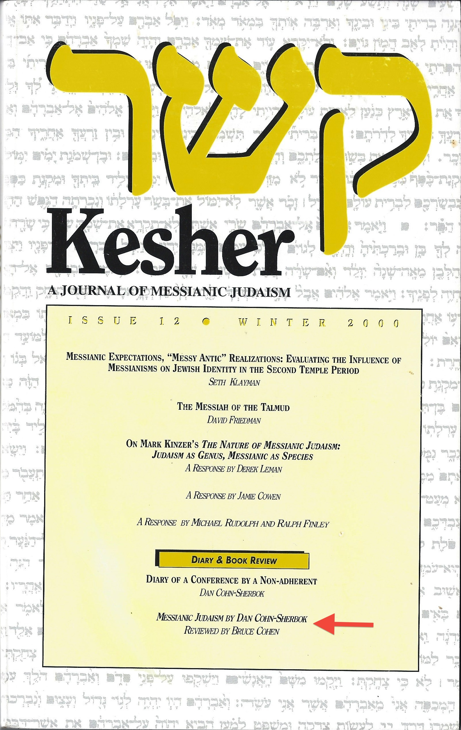 Kesher Covers
